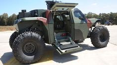 IMI's Combat Guard May Be The Most Extreme Armored 4X4 Ever Built