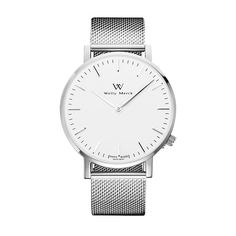 A twist on the classic silver and white combination, the matte silver 316L…