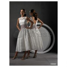 A Line High Neckline Lace Covered Waist Pleated Tea length Wedding Skirt I like this dress. Not afraid of wearing tea length. Wedding Dresses For Older Women, Wedding Dresses Under 100, How To Dress For A Wedding, Wedding Skirt, Tea Length Wedding Dress, Tea Length Dresses, Cheap Wedding Dress, Designer Wedding Dresses, Bridal Dresses