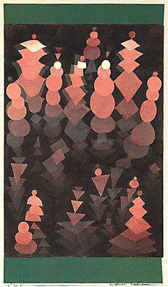 Paul Klee ~ Reifendes Wachstum, 1921