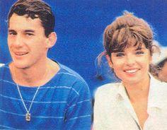 Os Estagiários: relembre as belas namoradas de Ayrton Senna