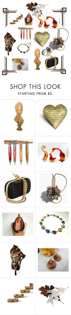 """""""Unique Handmade Gifts"""" by anna-recycle ❤ liked on Polyvore"""