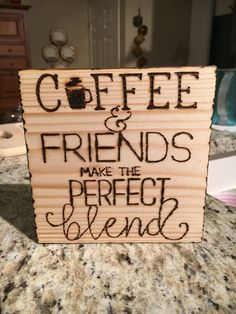 Coffee & Friends Make The Perfect Blend.