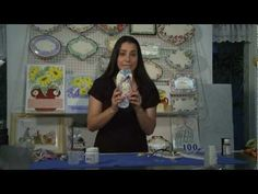 Decoupage no Chinelo by Lívia Fiorelli - YouTube
