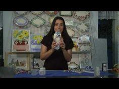 ▶ Decoupage no Chinelo by Lívia Fiorelli - YouTube