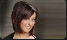 Hair brown mahogany highlights 22 Ideas for 2019 Cut My Hair, Red Hair, Brown Hair, Hair Cuts, Mahogany Highlights, Hair Highlights And Lowlights, Elegant Hairstyles, Cute Hairstyles, Black Makeup