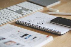 Webdesign Work in Progress by Viktor Hanacek on @creativemarket