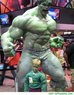 cosplay incredible hulk