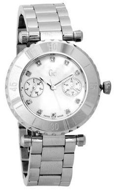 Guess DIVER CHIC GC Diamond Ladies Watch G30500L1 GUESS. $299.00. Steel Bracelet Strap. Date. Water Resistance : 3 ATM / 30 meters / 100 feet. Save 25% Off!