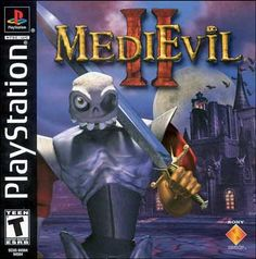 MediEvil 2 is an Action-Adventure sequel to MediEvil for the PlayStation, released in Over five hundred years has passed since the undead knight Sir … V Games, Geek Games, Games Box, Arcade Games, Comic Games, Classic Video Games, Retro Video Games, Video Game Art, Playstation Consoles