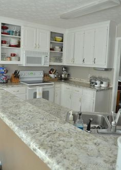 How To Install Your Own Laminate Countertops (we Did And Saved Half The  Cost Of