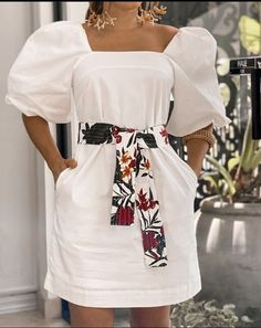 White Outfits, Cool Outfits, African Maxi Dresses, White Fashion, Simple Dresses, Indian Wear, Pattern Fashion, Casual Looks, Designer Dresses