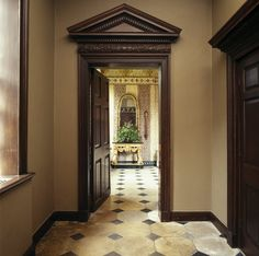 The Entrance Lobby in the Treasurer's House, York