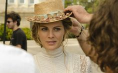 Actress Amaya Salamanca. Image from the Spanish TV Series 'Gran Hotel'