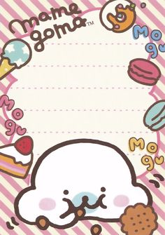 ★ Stardrops ★ | Kawaii stationery scans