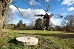Testing the winds with the newly restored Colonial Williamsburg windmill. Story to come: bit.ly/1Sjg778 -- Mark St. John Erickson