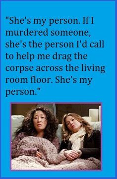 Yup! She's my Person!!