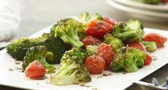 Roasted Broccoli & Tomatoes