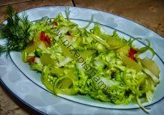 www.przepismamy.pl: Surówka z kapusty pekińskiej z ananasem