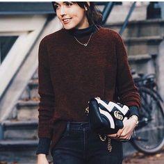 @adashoffash in 'Oba' jumper❄️#wool #knitwear #gestuz  www.gestuz.com
