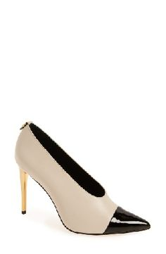 Available in 3 colors, check out & shop the Calvin Klein 'Saydee' pump $139, available here: rstyle.me/~9Dfdi