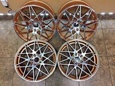 "19"" 19 Inch BMW M4 1 2 3 4 5 Series M Sport OEM Specs Wheels Rims Staggered"