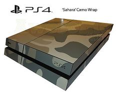 How to make ya console look cool.....its a console but COD style haha :) Playstation 4 PS4 Digital Sahara Camo Skin Wrap Decal Cover Camouflage