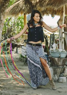 Hippy Wrap Skirt #augustethelabel #shelivesfree