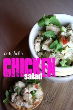 Artichoke Chicken Salad  via Loves Food, Loves to Eat