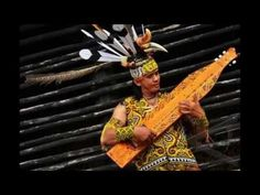 Sape' Instrument Dayak Borneo (Jerry Kamit - Sarawak) #goodsong#myculture#missborneoisland