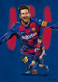 Very proud to have been chosen to decorate the locker room of the FC BARCELONA (the famous soccer team) in the CAMP NOU stadium. Lionel Messi Barcelona, Barcelona Soccer, Barcelona Players, Ronaldo Real Madrid, Football Images, Football Art, Equipe Do Barcelona, Messi Soccer, Nike Soccer