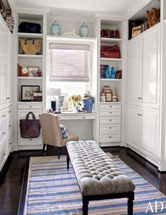 The most beautiful walk-in wardrobes and closets to give you storage inspiration                                                                                                                                                                                 More