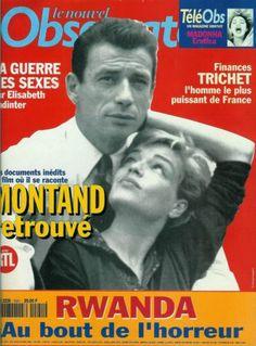 Yves Montand, S. Signoret / 1994 / Une & 7 pages / Coupure de presse, Clipping