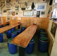 One of the best meals we had in Reykjavik Iceland was here at the Sea Baron - an old fisherman hut in old port