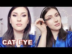 Perfect Eyeliner for Hooded Eyes - YouTube Eyeliner For Hooded Eyes, Bold Eyeliner, Perfect Eyeliner, Hoods, Videos, Makeup, Youtube, Maquiagem, Cowls