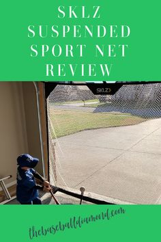 Are you thinking about getting a SKLZ suspended sport net? Maybe you just want to make sure that the net you are investing in is going to be of high quality with zero compromise. Either way, this large suspended practice net gives you the chance as an athlete to work on your softball, baseball or even golf swings. The net measures 7.5′ x 7′ and it is ideal for anyone who wants to pitch or swing a little better. Click the picture to see full review and video! Baseball Tips, Baseball Equipment, Swings, Softball, Pitch, Athlete, Coaching, Zero, Investing
