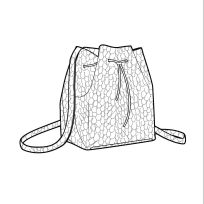 Sports Deluxe: S/S 14 Accessories CAD components Flat Drawings, Flat Sketches, Technical Drawings, Model Sketch, Bag Illustration, Fashion Sketchbook, Drawing Clothes, Fashion Flats, Handbag Accessories