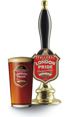 14th January 2013 ~ #DailyPint 14: Pint of London Pride. Oh the irony! 7/10 [Drank in The Churchill, Manhattan, New York]