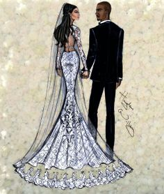 'A Florence Wedding' by Hayden Williams #Kimye