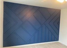 Accent Walls In Living Room, Accent Wall Bedroom, Wood Accent Walls, Accent Wall Designs, Focal Wall, Wall Trim, Wood Accents, Wall Molding, Fireplace Wall