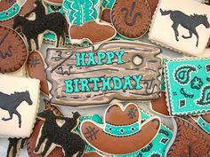 cowboy/cowgirl cookies