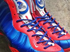 "Nike Air Foamposite One ""New York Giants"" by noldocustoms - SneakerNews.com"