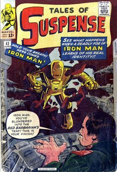 One of the earliest Iron Man stories, featuring the original Iron Man suit
