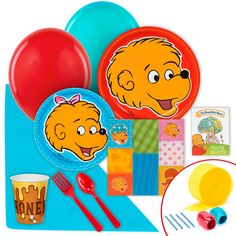 The Berenstain Bears Value Party Pack from BirthdayExpress.com