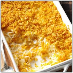 *** FUNERAL POTATOES *** Quick & Easy au Gratin Potatoes Recipe -On holidays, a friend serves these creamy, cheesy potatoes when we gather together to celebrate with lifelong friends and grown children. Potatoes Au Gratin, Cheesy Potatoes, Taste Of Home, Potato Dishes, Potato Recipes, Vegetable Recipes, Potato Ideas, Vegetable Dishes, Jalapeno Poppers