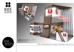 Various exhibition booths designed to enhance client's branding image into space with remarkable design structure by understanding their core of industry.
