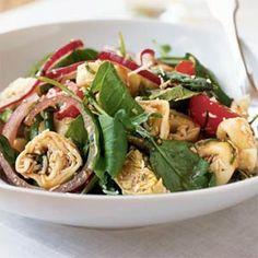 Warm Tortellini and Cherry Tomato Salad | MyRecipes.com