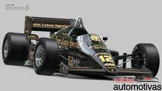 Gran Turismo 6 adiciona Lotus F1 97T 85 e primeiro kart de Ayrton Senna