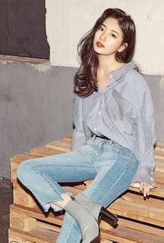 suzy guess, suzy guess 2017, suzy guess ss collection 2017, suzy photoshoot 2017, suzy airport 2017, suzy fashion 2017, suzy lee minho