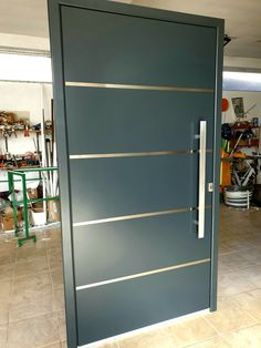 Aluminijumska i PVC stolarija po meri Aluminium Front Door, Bathroom Medicine Cabinet, Outdoor Gardens, Garden Design, Doors, Steel Doors, Front Doors, Trendy Tree, Wrought Iron